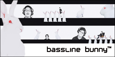 bassline bunny™ Video Screen Shots